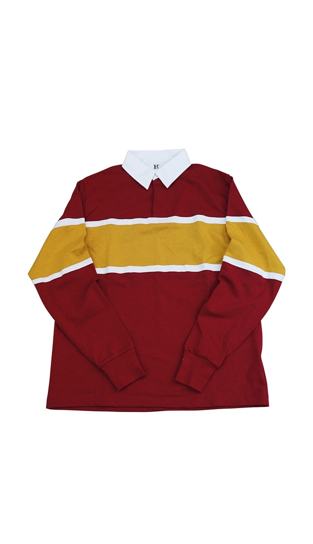 RUGGER SWEAT SHIRTS (BURGUNDY)