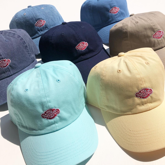 "BUBBLE OVER ""Classic Logo Embroidery Cap"""