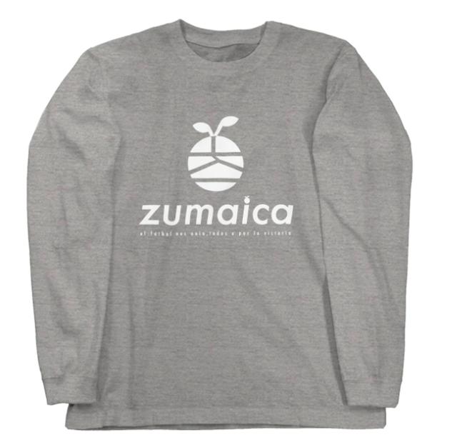 zumaica ロンT  White(ホワイト)【長袖Tシャツ】