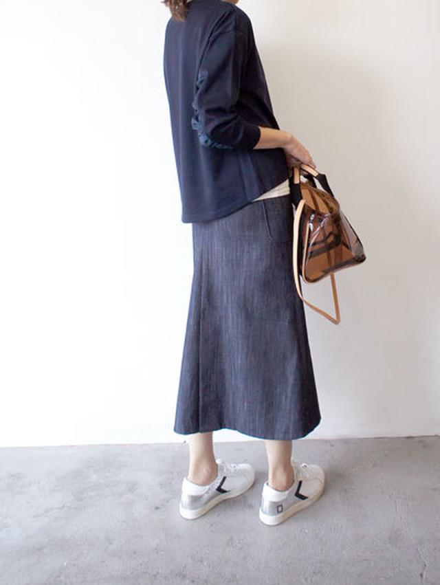 BIGポケットデニムスカート / SALT