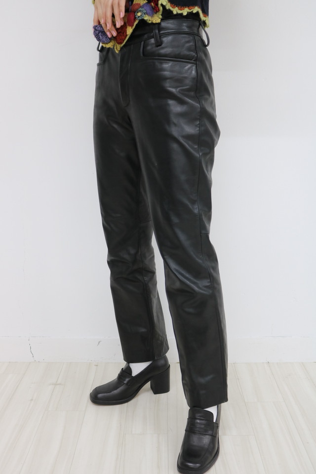 """GUESS"" leather pants / PT11260005"