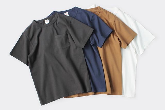 BASIC CUTSEW SS POCKET TEE