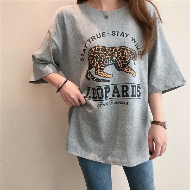 レオパルドTシャツ 9897