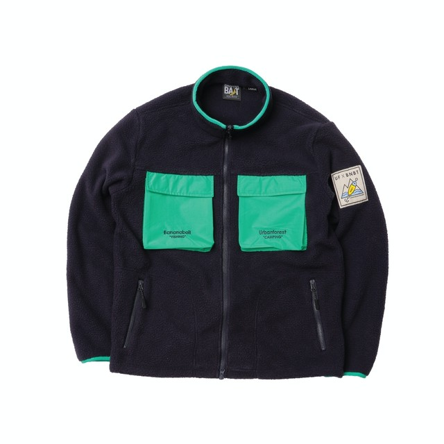 【Banana Bait】UF X BNBT Fleece JKT / Navy