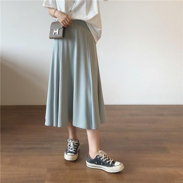 夏色Aラインスカート