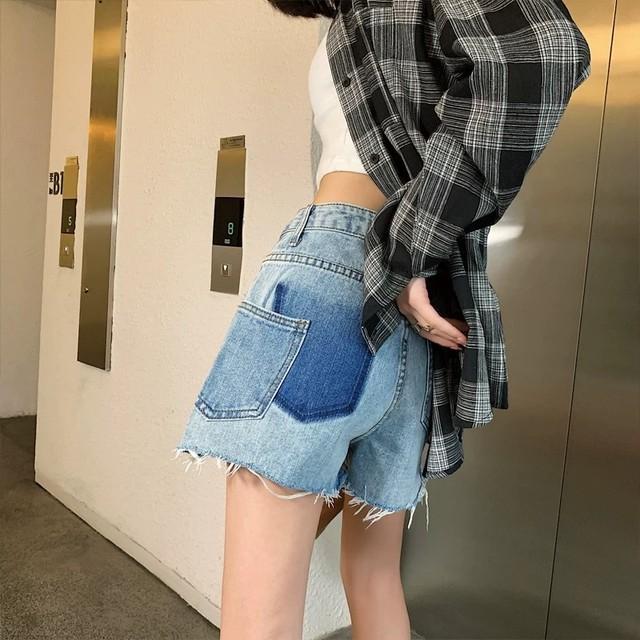pocket paint short pants