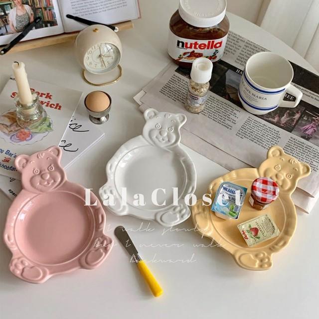 bear plate / プレート / #8 / 韓国インテリア