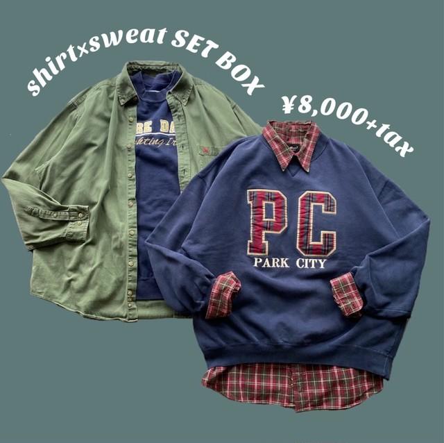 shirt×sweat SET BOX