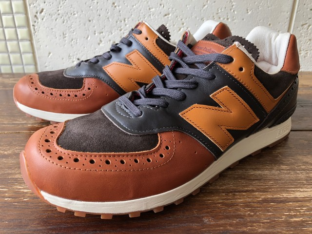 NEW BALANCE x GRENSON M576GSN (DARK BROWN/LIGHT BROWN)