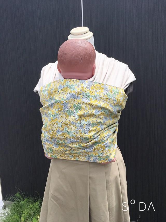 WA wrap /  クリーム黄色小花