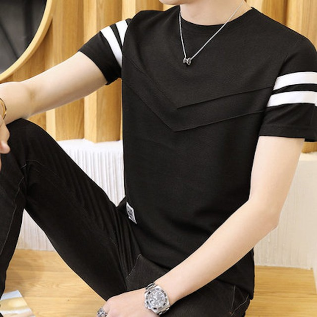 Tシャツ メンズ 半袖 インナー ティーシャツ トップス アメカジ カットソー tps-1524