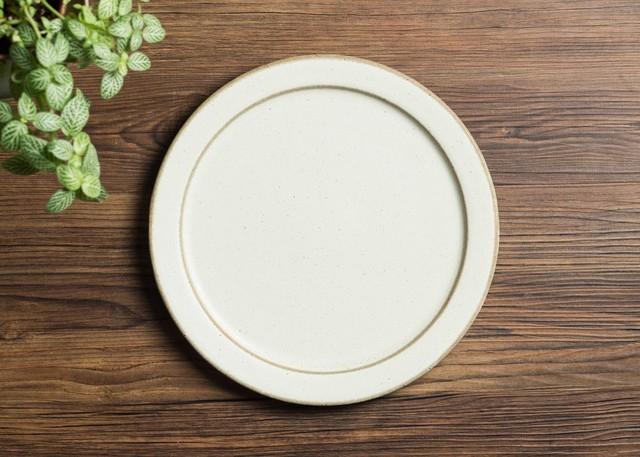 SHIROUMA 洋皿 24cm 白 大皿 プレート/長谷川 哲也