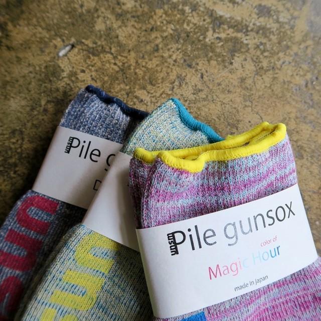 Pile gunsox short   (unisex)