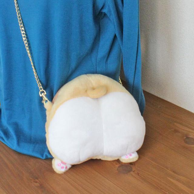 【一期一会】和柄猫ショルダーバッグ(猫シルエット)