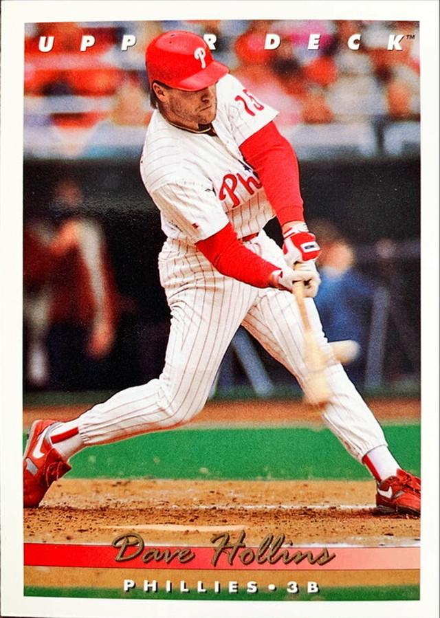 MLBカード 93UPPERDECK Dave Hollins #153 PHILLIES
