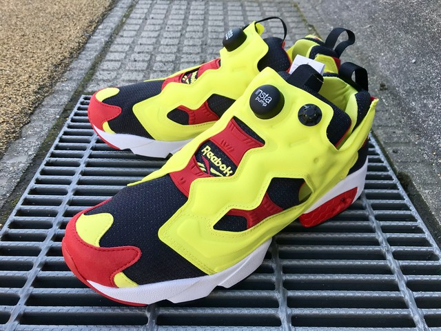 REEBOK INSTAPUMP FURY OG (BLACK/GREEN/RED/WHITE)