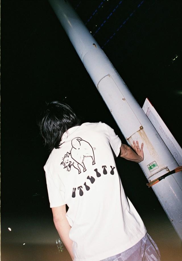 EFFECTEN(エフェクテン)s/s Tee backstyle'dogs'