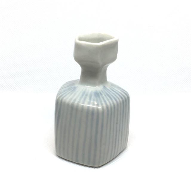 【砥部焼/山中窯】プチ花瓶(ドット)