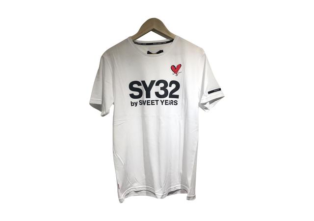 SY32 SYロゴ×ハートロゴTシャツ(7403)