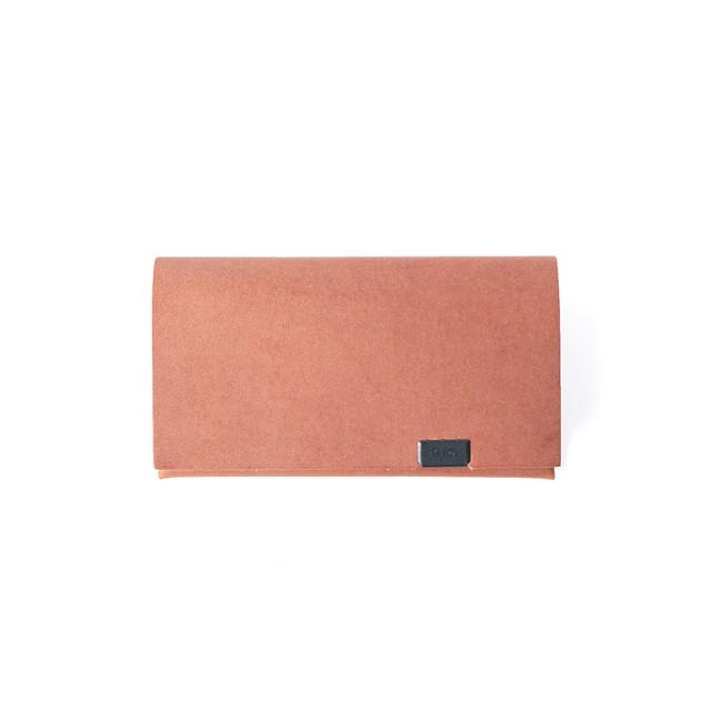 姫路ブライドル カードケース キャメル
