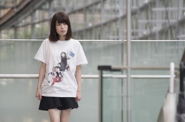 女子高生Tシャツ(designed by クマノイ)