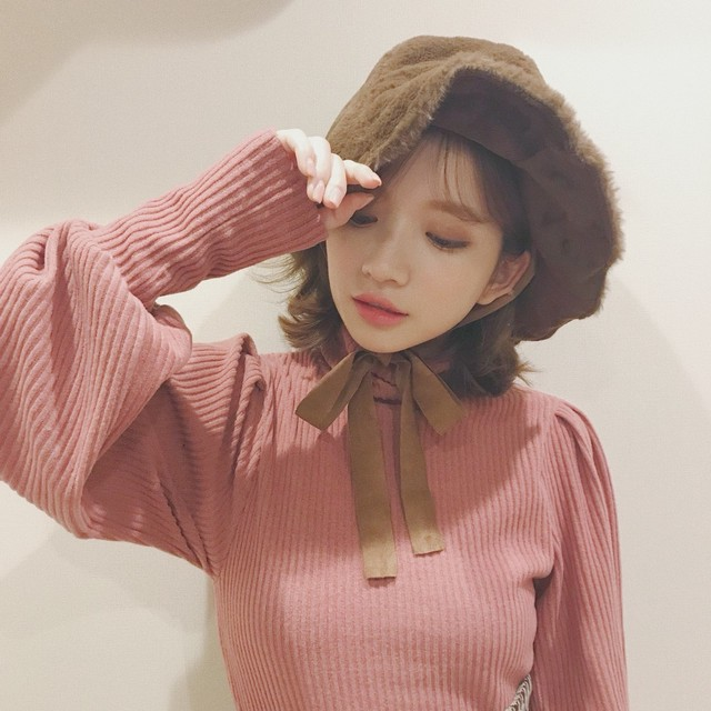 turtle puff sleeve tops (A18-1005K)