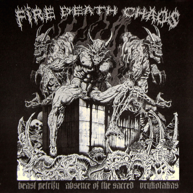 『FIRE DEATH CHAOS』COMP-CD