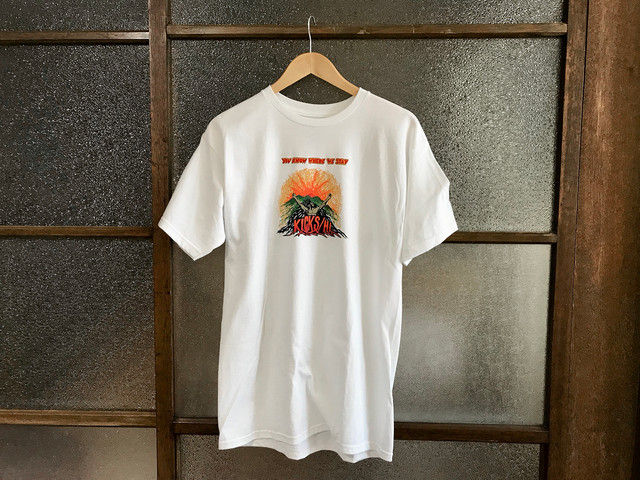 "KICKS/HI ""UPRISING"" TEE (WHITE)"