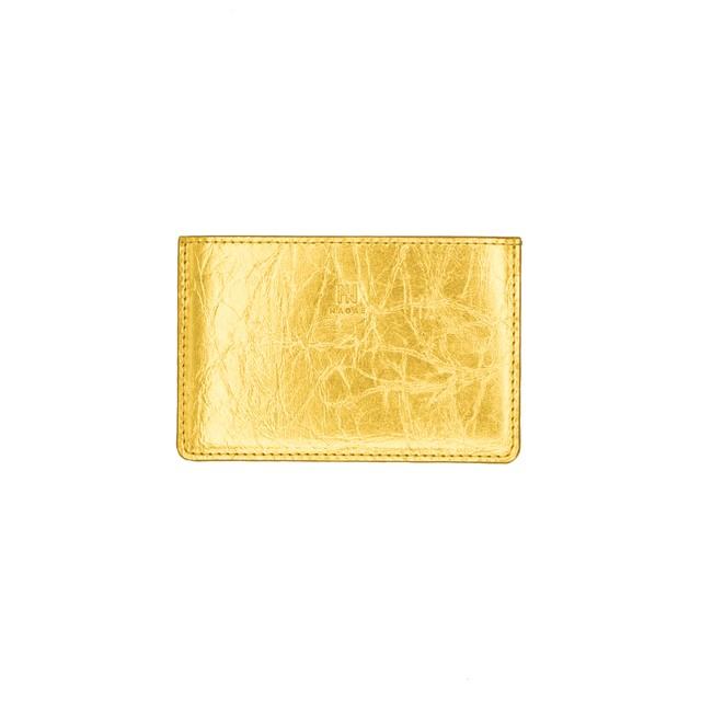 TIN BREATH Clutch bag Gold
