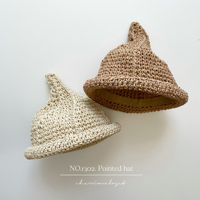 NO.1302. Pointed hat