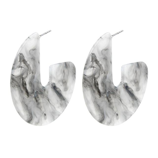 acrylic plate pierce -gray
