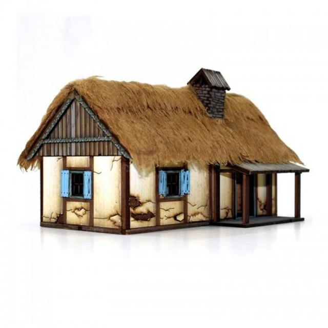 【予約発注】 Polish Rural Dwelling 28S-WAW-119