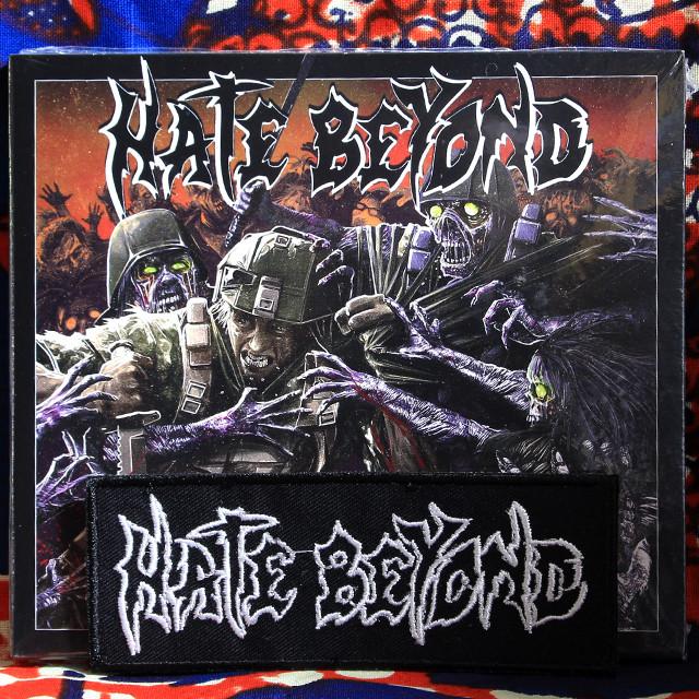 HATE BEYOND『VERGE OF DEATH』European Edition Digipack CD +限定パッチ・セット!
