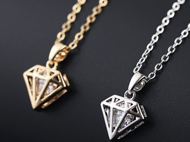 Luxis diamond necklace【限定品/各色残り1点】