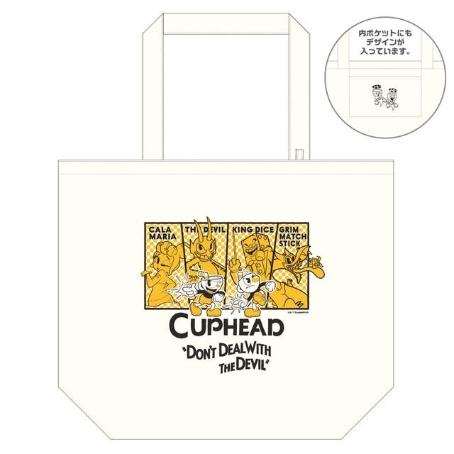 CUPHEAD ( カップヘッド ) トートバッグ(L) / エンスカイ