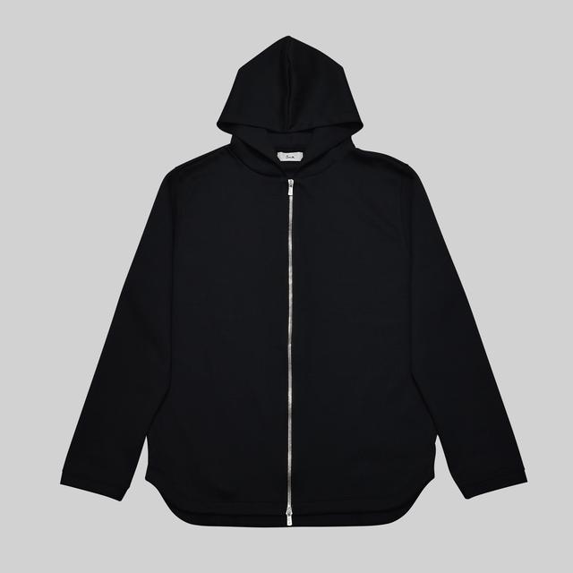 ユースフルドレスジップパーカー / Useful Dress Zip Hoodie #BLACK