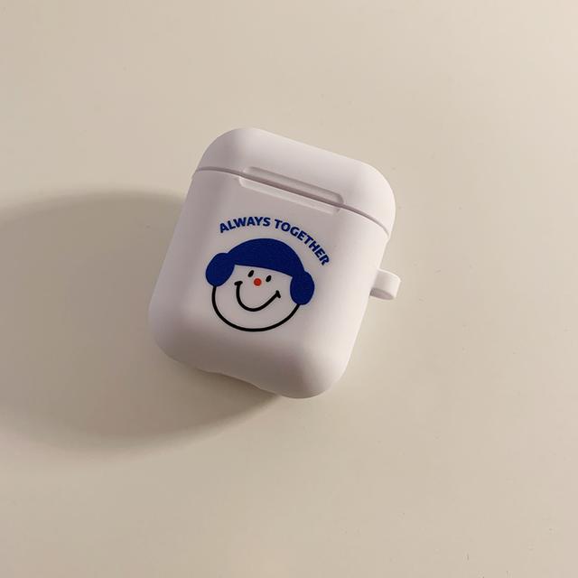 [OA-44] カラーヘア AirPodsケース (あお)