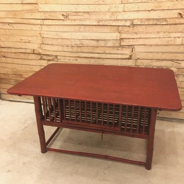 TOPANGA Furniture バンブーダイニングテーブル タイプC