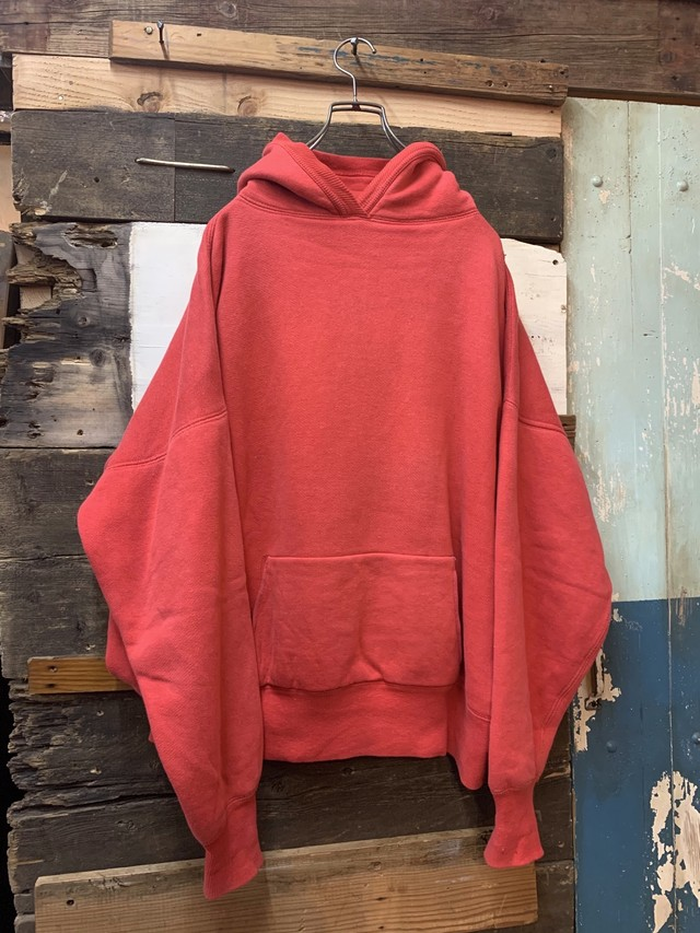 50's unknown double face sweat parka