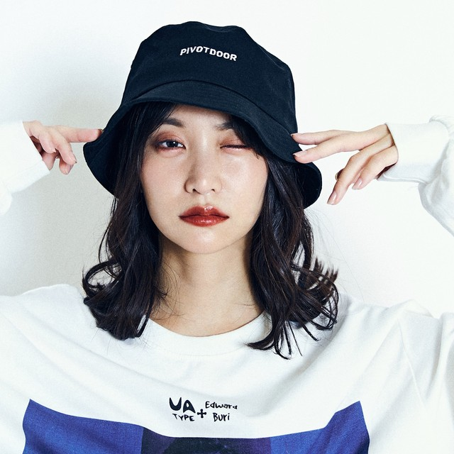 PIVOTDOOR logo bucket hat PDR2053