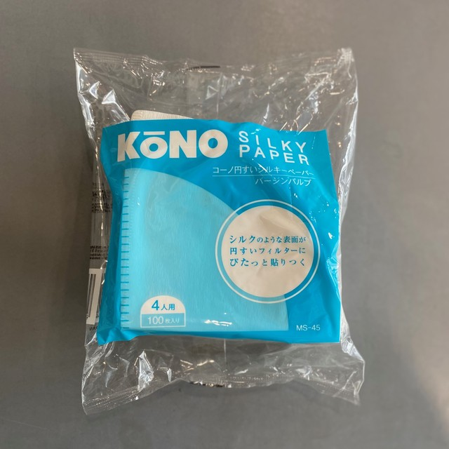 KONO | コーヒーフィルター (円錐/1〜4カップ用)