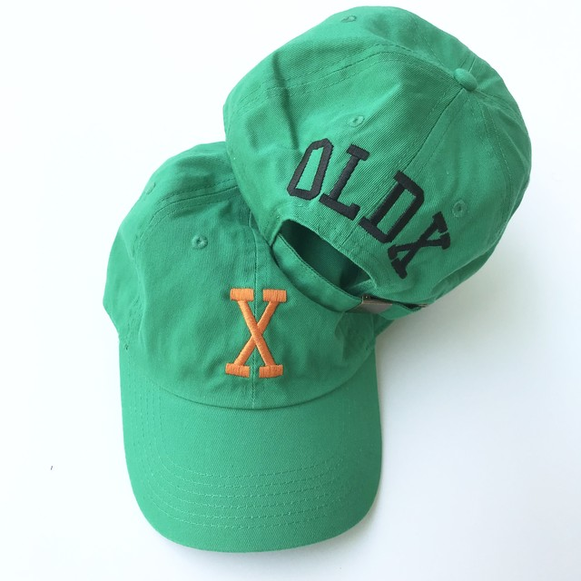 "College ""X"" cap GREEN"