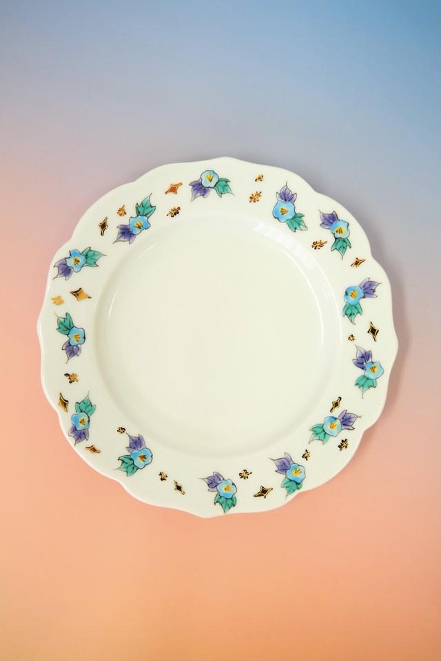 (hakuchou unicorn)random flower / cake plate(Φ15cm)