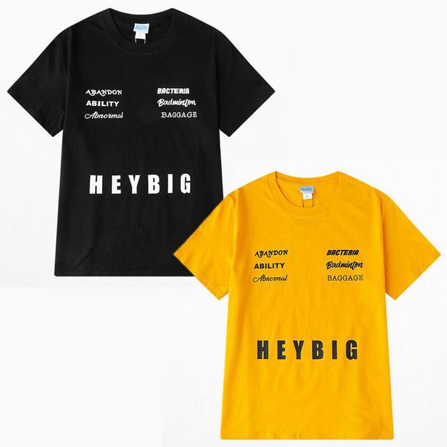 ユニセックス 半袖 Tシャツ メンズ レディース シンプル 英字 プリント オーバーサイズ 大きいサイズ ルーズ ストリート TBN-614578415374