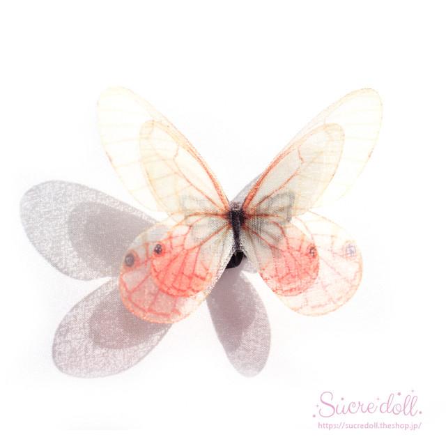 [夕暮れ] 胡蝶の夢 ヘアクリップ