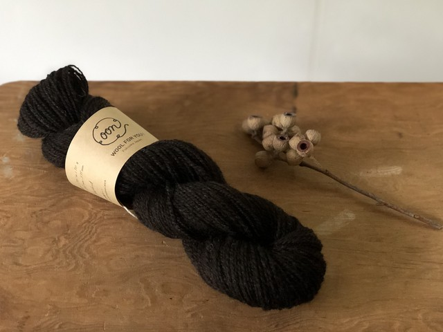 WOOL FOR YOU! <shetland w - darkbrown>