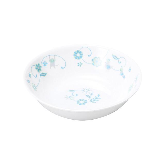 【1159-1320】強化磁器 深小皿 サラサ・ブルー