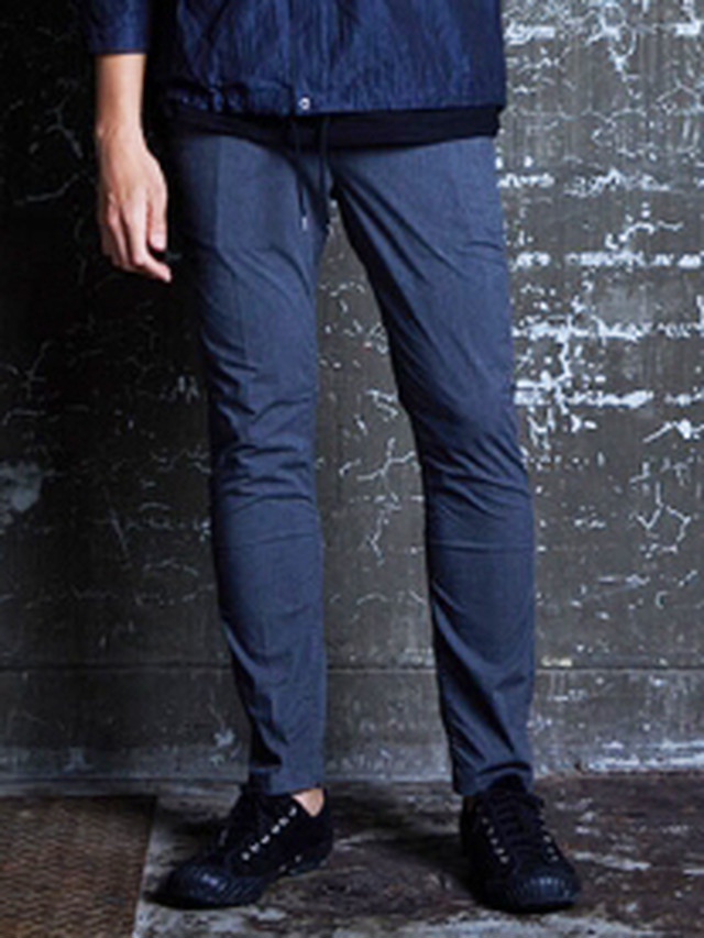 EGO TRIPPING (エゴトリッピング) STRETCH EASY CHINO / CHARCOAL 623651-04