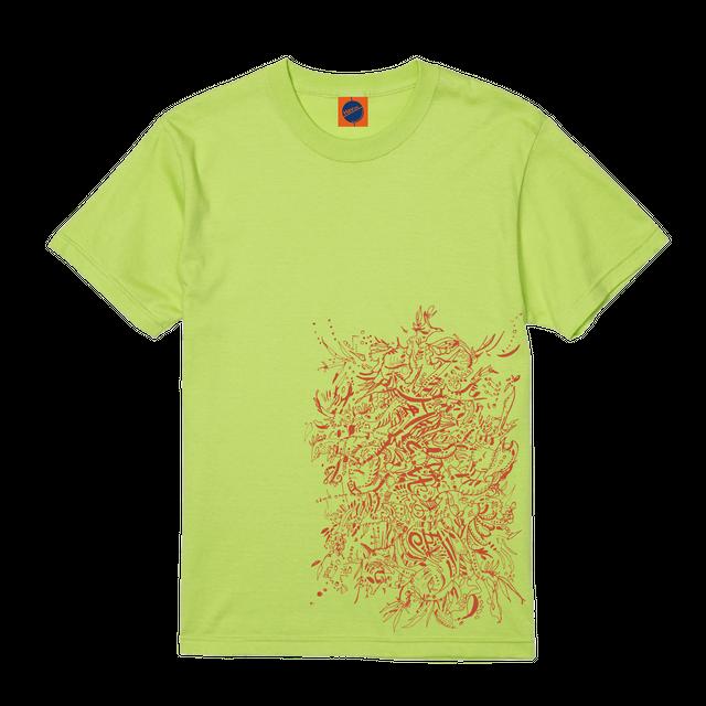 【ライムグリーン】Havlife オリジナルコラボTシャツ【コラボ限定販売】