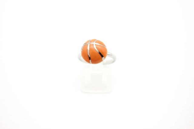 有田焼リング バスケットボール ①